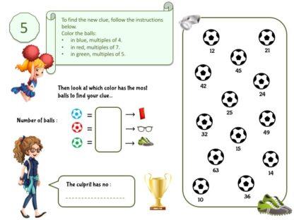 Soccer birthday investigation puzzle