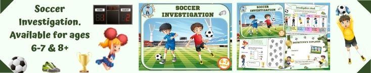 Soccer investigation game