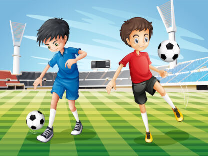 Soccer Mystery party game