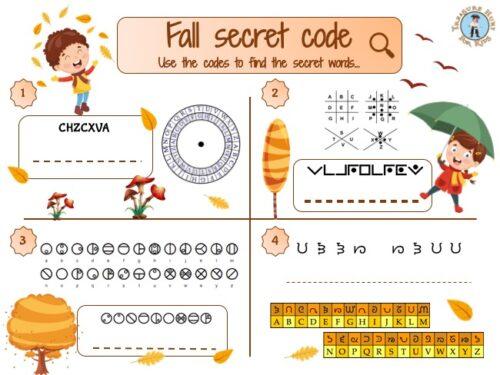 fall secret code