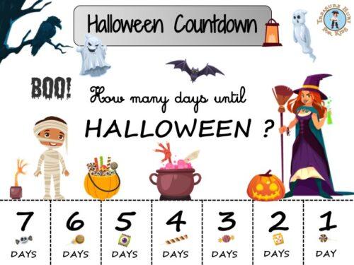 Halloween countdown calendar: how many days until Halloween?